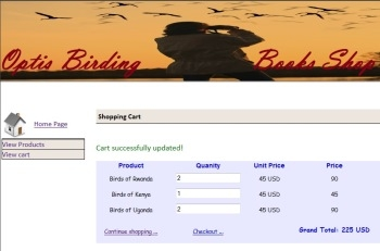 Optis Birding Books Shop
