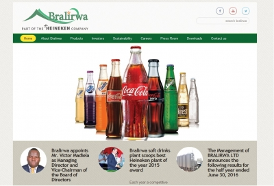 Bralirwa Website